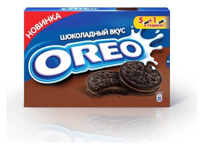 Печенье Oreo с какао, со вкусом шоколада, 228г  OREO