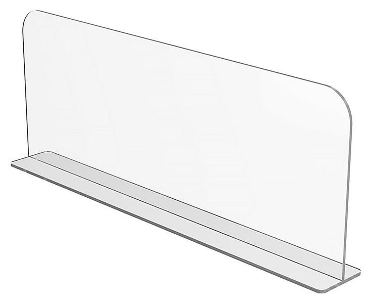 Разделитель пластик. выс. 150 мм на т-основ. Divt-150, длина 680 мм 20 шт.  NNB