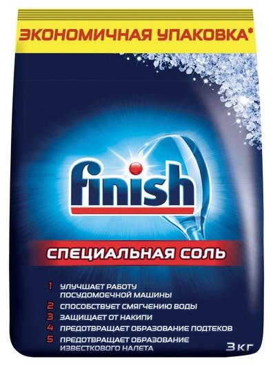 Соль для посудомоечных машин Finish 3кг  Finish