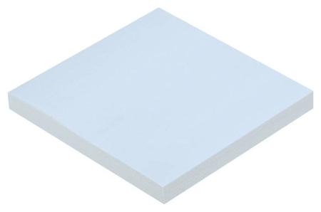Блок-кубик Attache с клеев.краем Z-блок 76х76 голубой 100л  Attache