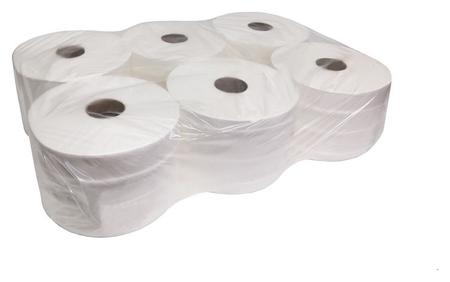 Бумага туалетная для дисп Luscan Professional с ЦВ 2сл бел цел 215м 6 рул/уп  Luscan