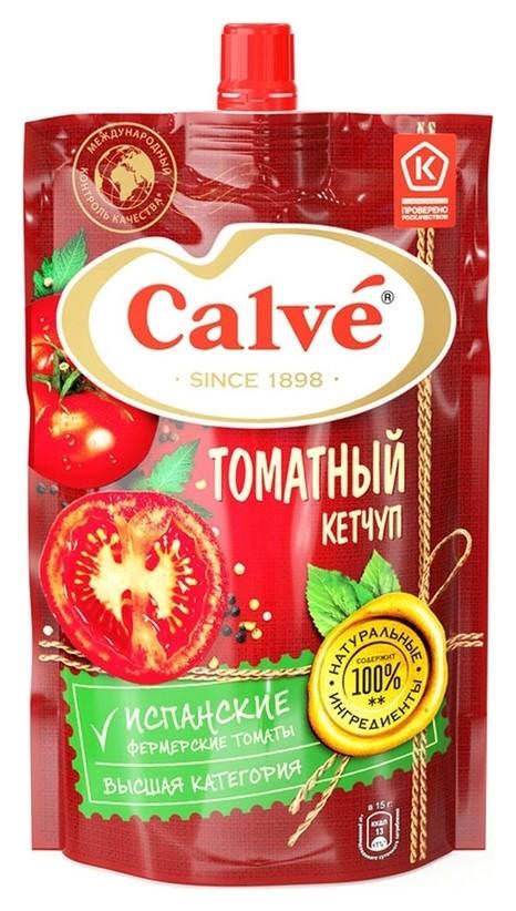 Кетчуп Calve томатный дой-пак, 350 г  Calve