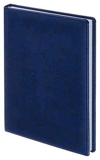 Ежедневник недатированный синий,а5,148х218мм,176л,attache вива  Attache