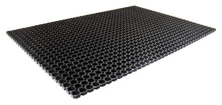 Покрытие резиновое универсальное (1000х1500х17мм,черный)  NNB