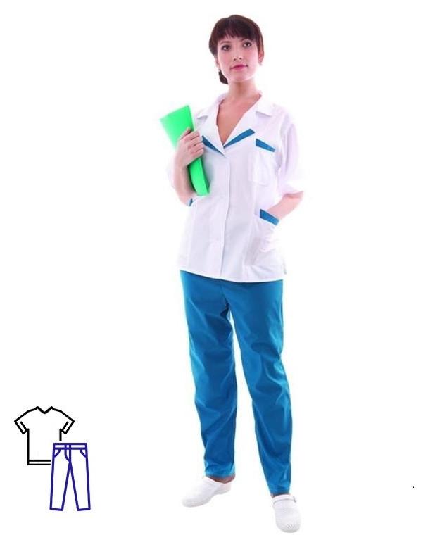 Костюм медицинский м01-кбр женский (Р.56-58) 170-176 NNB