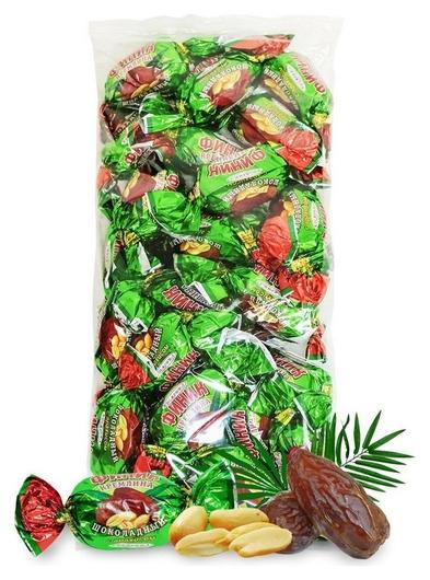 Конфеты кремлина финик в шоколаде с арахисом, 1кг  Кремлина