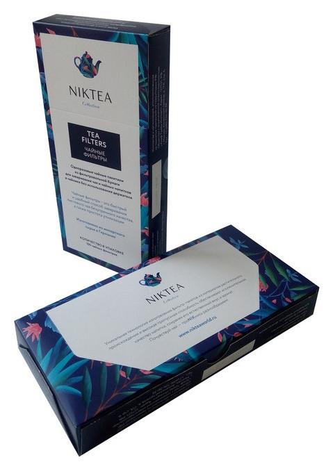 Фильтр пакеты для заваривания чая Niktea 100шт. Niktea
