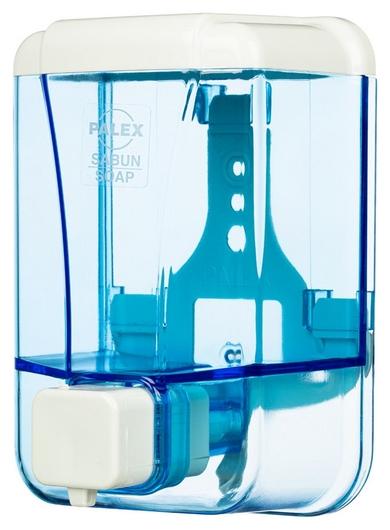 Дозатор для жидкого мыла Palex 3420-1 пластик прозрачный 500 мл  Palex