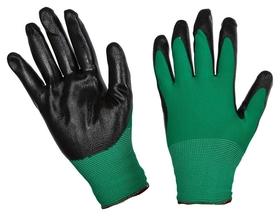 Перчатки защитные нейлоновые с нитриловым покрытием (Р.8)  NNB