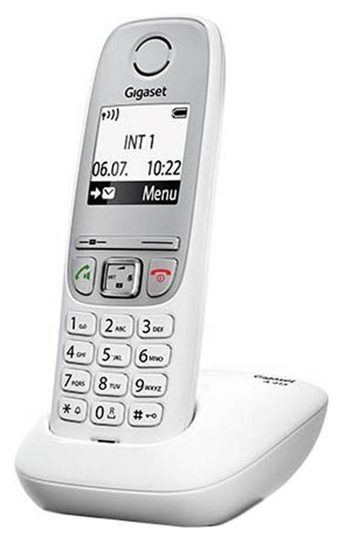 Радиотелефон Dect Gigaset A415 белый  Gigaset