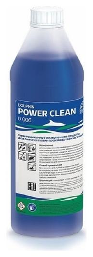 Профхим для машин мойки щел конц. для производств пола Dolphin/power Clean,1л  Dolphin