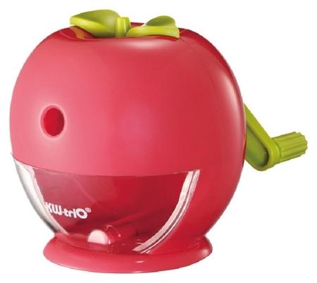 Точилка механическая детская Kw-trio яблоко, пластик,цвет в асс 31fa  Kw-trio