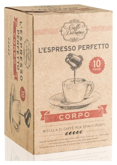 Кофе в капсулах Diemme Caffe Corpo, 10шт  Diemme Caffe