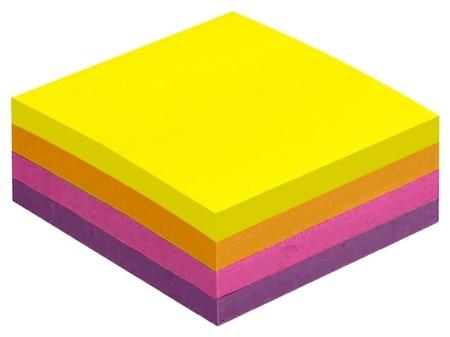 Блок-кубик Attache Selection куб 51х51, неон-3 4 цвета 400 л  Attache