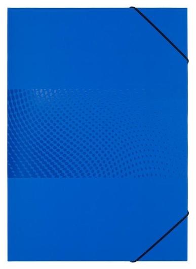 Папка картонная на резинке Attache Digital, синий  Attache