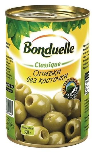 Консервация оливки без косточки 300г  Bonduelle
