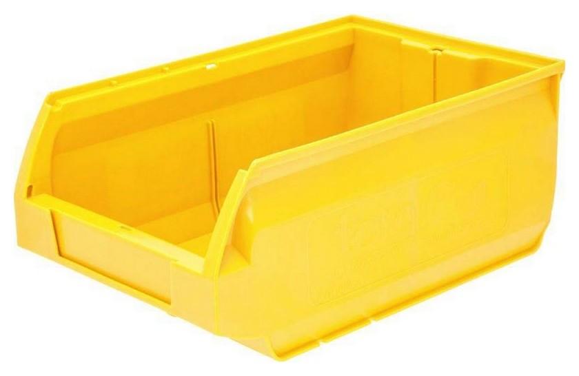 Ящик Milano 350х230х150 PP, желтый арт.5003  NNB