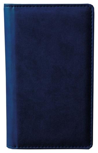 Визитница настольная 96виз,синий,а5,110х200мм,аттасне сиам  Attache