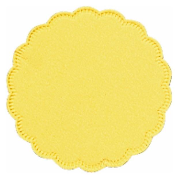 Салфетки подставка бумажная Tork д9, 8сл желтая 250шт./уп. 474472/470244  Tork