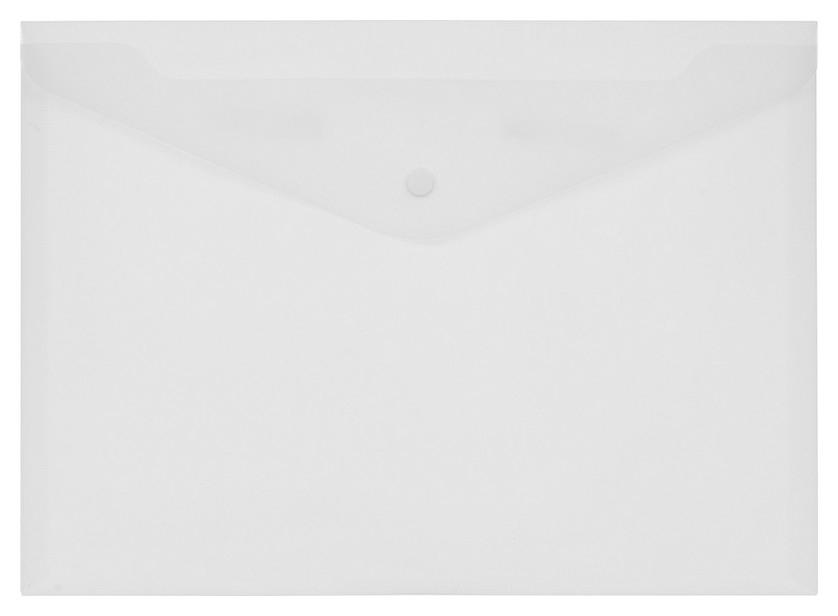 Папка-конверт на кнопке КНК 180 матовый прз. 10шт/уп  Attache