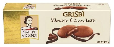 Печенье Grisbi шоколадный крем, 150г  Grisbi