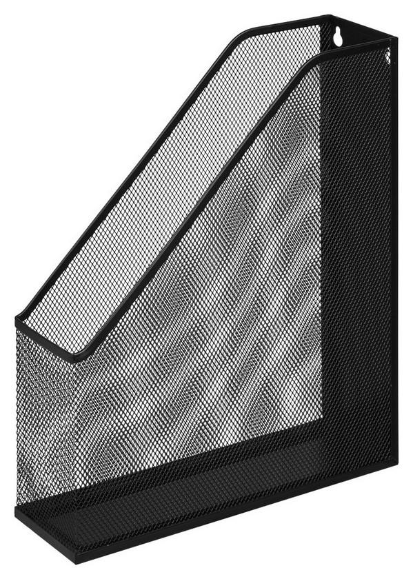 Вертикальный накопитель Attache для бумаг металл сетка, ширина 72мм чёрный  Attache