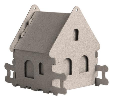 Набор для творчества сборный картон. домик для раскраш.,каменный,30010-507 Smubic