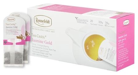 Чай Ronnefeldt Tea Caddy Jasmine Gold зелен., 20пакx3,9гр/уп  Ronnefeldt