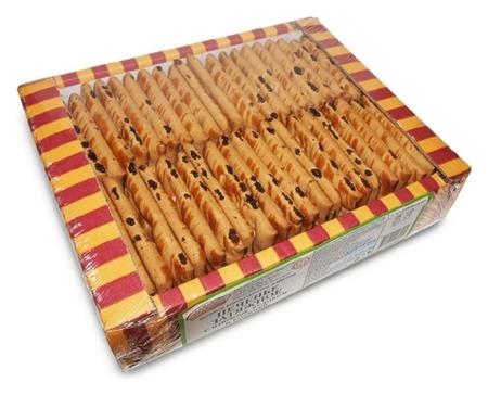 Печенье озби затяжное с изюмом, яблоком и корицей, 625г  Семейка Озби