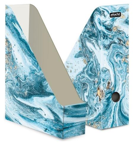 Вертикальный накопитель Attache Selection Fluid 75мм 1шт/уп серый  Attache