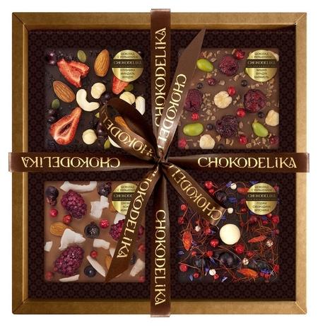 Подарочный набор вкусная фантазия, 300 г, в коробке  Chokodelika
