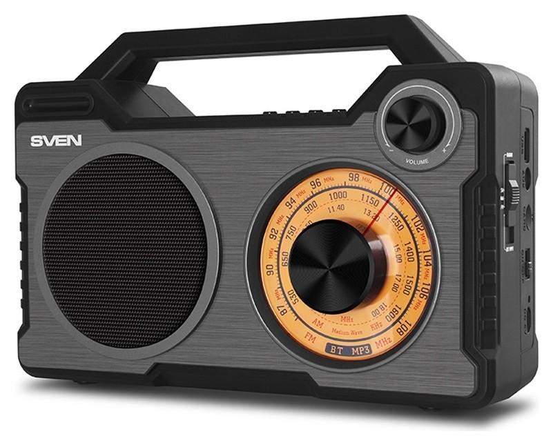 Радиоприемник Sven Srp-755 черный  Sven