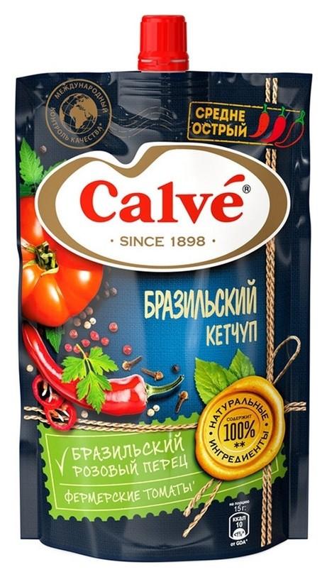 Кетчуп Calve бразильский дой-пак, 350 г  Calve