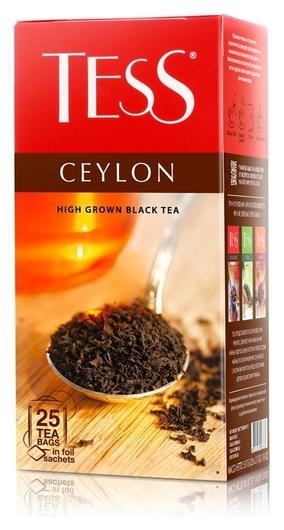Чай Tess цейлон черный, 25пак/уп 0633-10 Tess