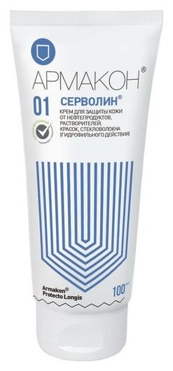 Крем защитный армакон серволин гидрофил 100мл 1197  Армакон
