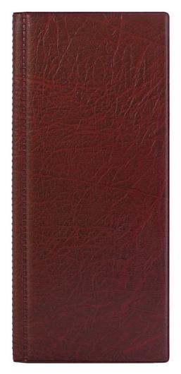 Визитница настольная на 96 визиток 2350и-203, пвх, бордо, росиия  Attache