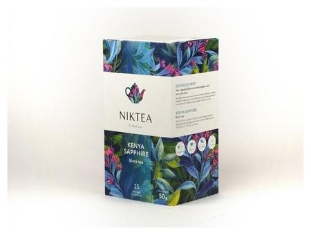 Чай Niktea кения сапфир черн. 25 пакx2гр/уп  Niktea