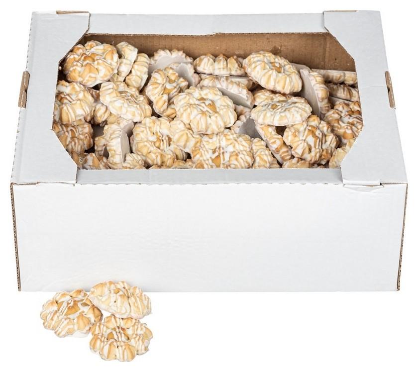 Печенье палента белый шоколад, 4 кг  Полет