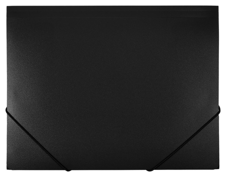 Папка на резинках Attache F315/06 черная  Attache
