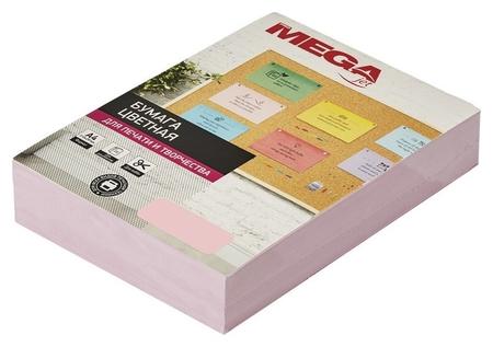 Бумага цветная Promega Jet (А4,80г,розовая пастель) пачка 500л.  ProMEGA