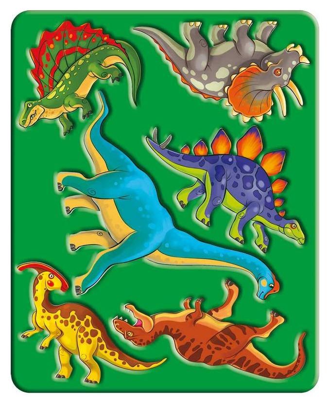Трафарет динозавры, 10С 525-08 Луч