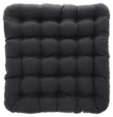 Подушка на сиденье Уют 40х40, серый  Smart Textile