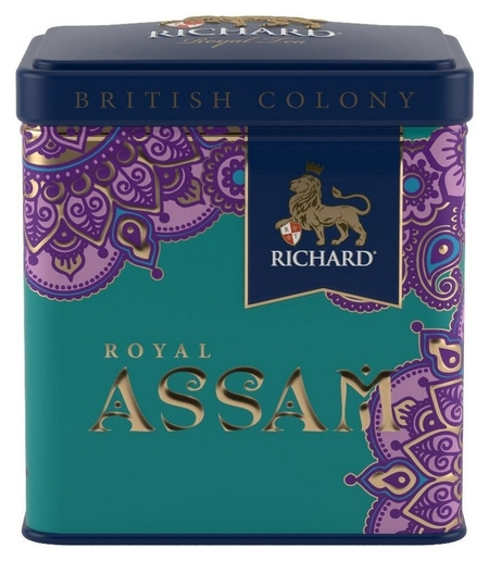 Чай Richard British Colony Royal Assam черн., ж/б, 50г  Richard