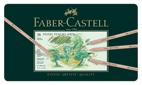 Карандаши цветные пастельные Faber-castell Pitt Pastel 36цв., 112136  Faber-castell