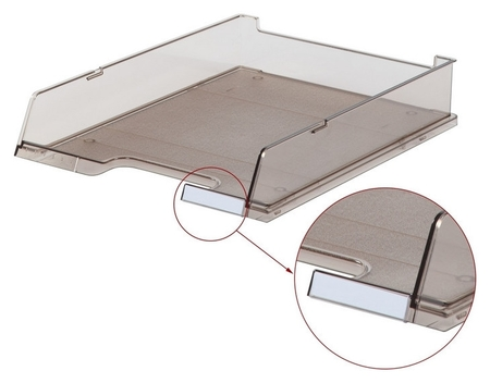 Лоток для бумаг HAN с инд.окном тонирован. 1020/09  Han