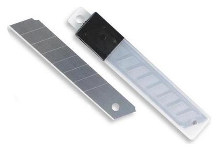 Лезвие запасное для ножей Attache 18мм 10шт./уп.пластиковый футляр  Attache