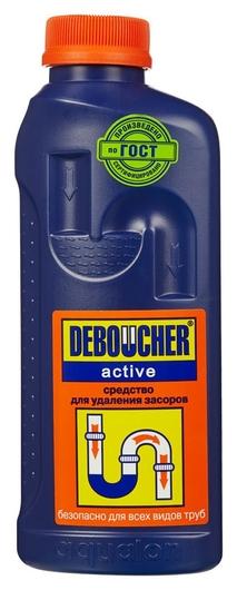 Средство для прочистки труб дебошир жидкость 1л аквалон  Deboucher