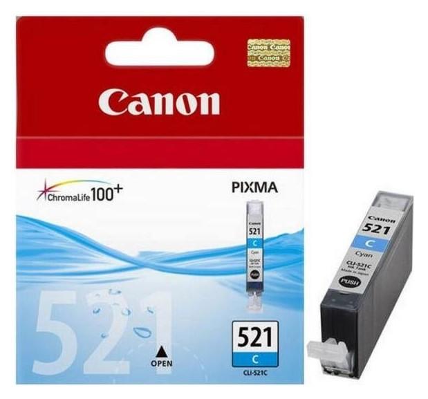 Картридж струйный Canon Cli-521c (2934b004) гол. для Pixma Ip3600/4600  Canon