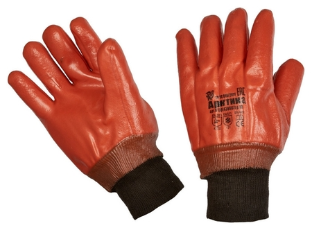 Перчатки защитные арктика утепл.,манжета-резинка(P.10)  Ампаро