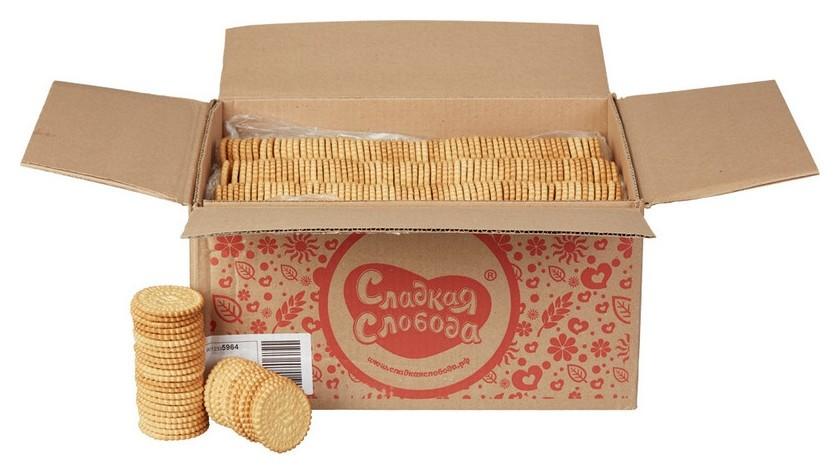 Печенье мария сладкая слобода 5 кг  Сладкая слобода